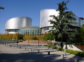 The European Court of Human Rights, Strasbourg. Source: ECHR multimedia pages.