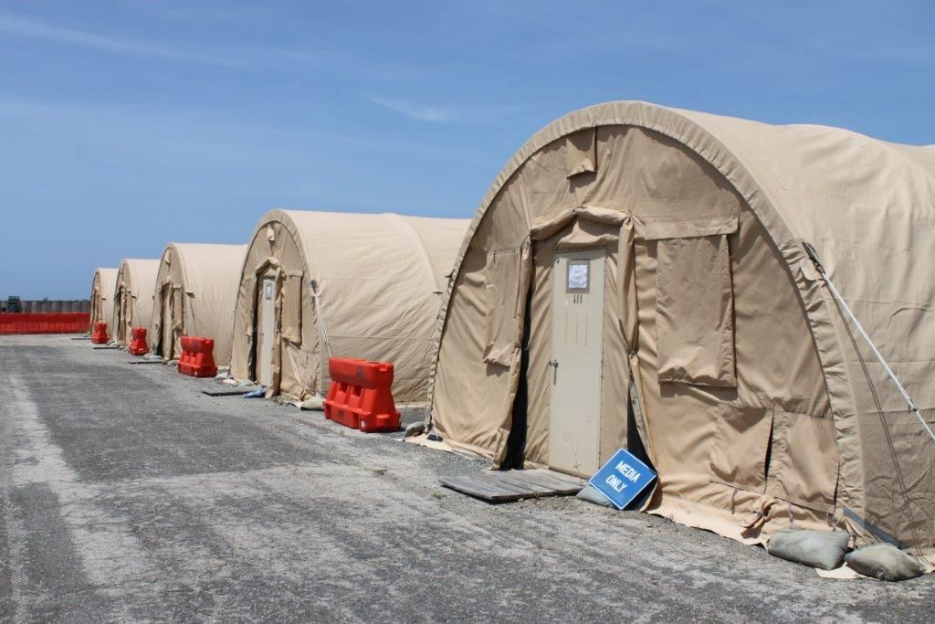 Photo: Photograph taken by Kjersti Lohne and approved by Joint Task Force Guantanamo's Operational Security