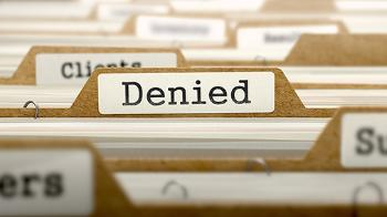 "Folder with the title ""Denied"""