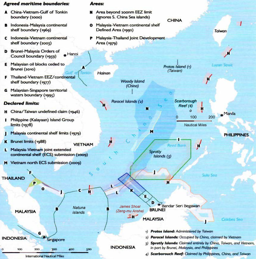 List of territorial disputes