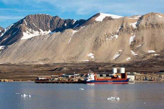 Havnen i Ny Ålesund