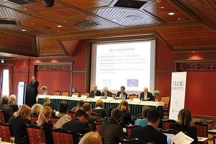 <p><em>Anders Anundsen</em>, Minister of Justice, Norway; Opening Ceremomy, Oslo Conference, April 2014</p>