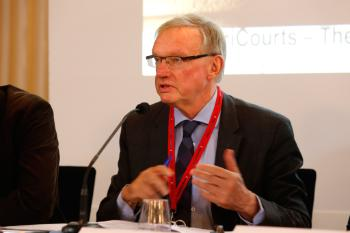 Agora 4: The Functions of International Courts. Allan Rosas Photo: Terje Heiestad