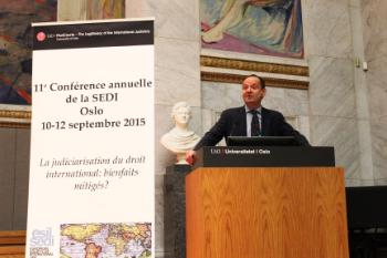 Final Lecture: Developments in Geopolitics – The End(s) of Judicialization? Philippe Sands