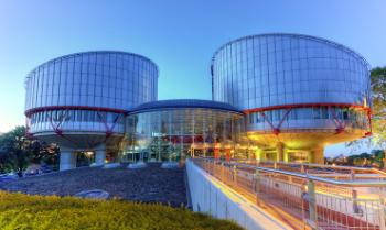 Photograph of the buildings of the European Court of Human Rights