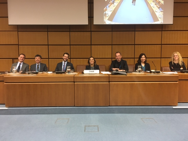 Members of the Academic Forum participating in UNCITRAL in Vienna.