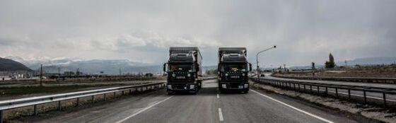 Bildet kan inneholde: vei, hovedvei, transportere, motorvei, transportmiddel.