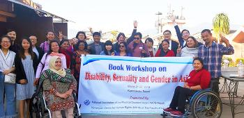 Participants at the workshop in Kathmandu