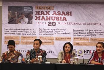 Left to rights: Trihoni Nalesti Dewi, Indria Fernida, Eko Riyadi, Manunggal Wardaya