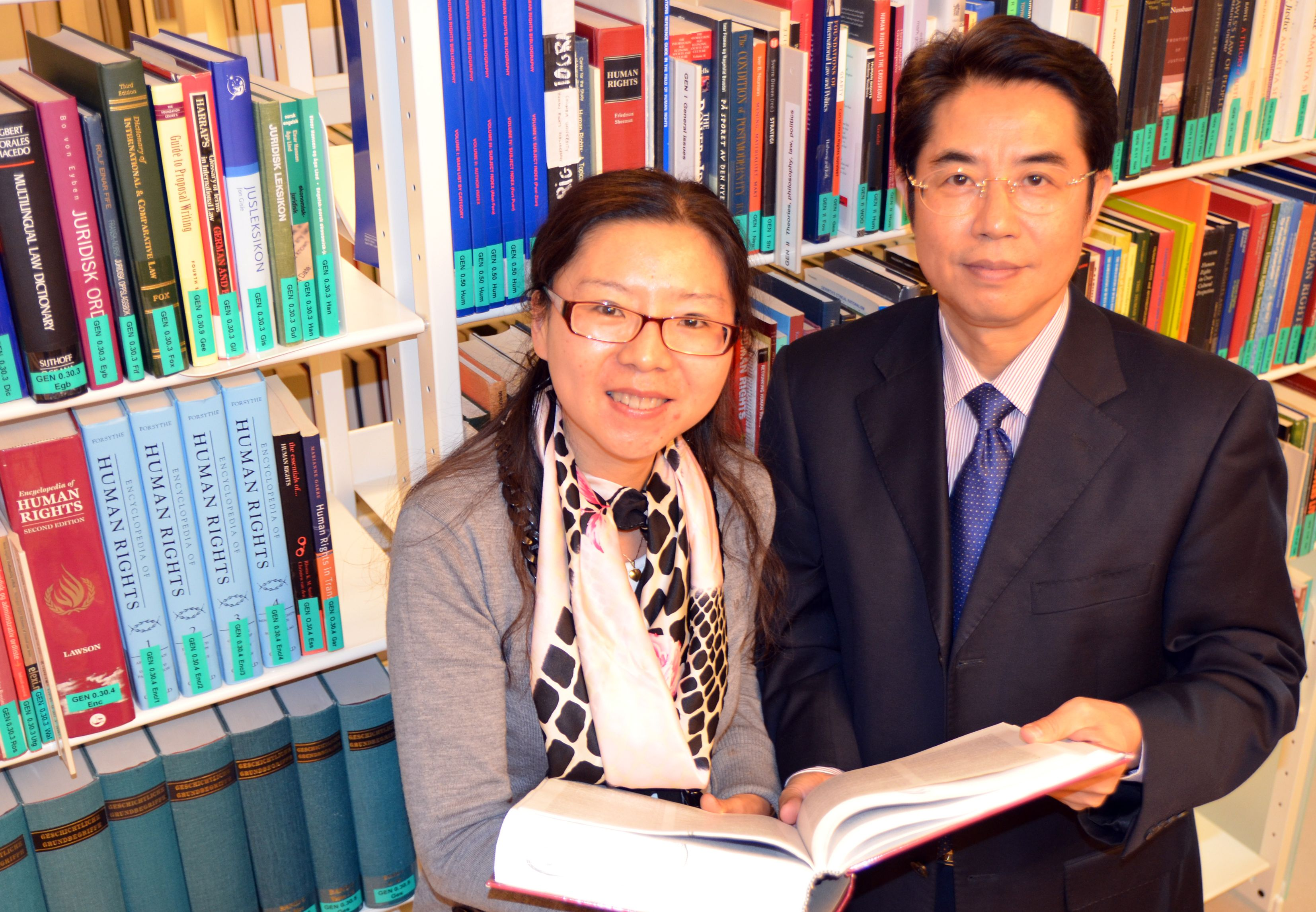 At the NCHR, more than 30 Chinese law experts have been hosted through long-term visiting scholar programmes. In 2013, Professor Yang Songcai from Guangzhou University and Dr. Sun Meng from the China University of Political Science and Law were visiting scholars at the NCHR.