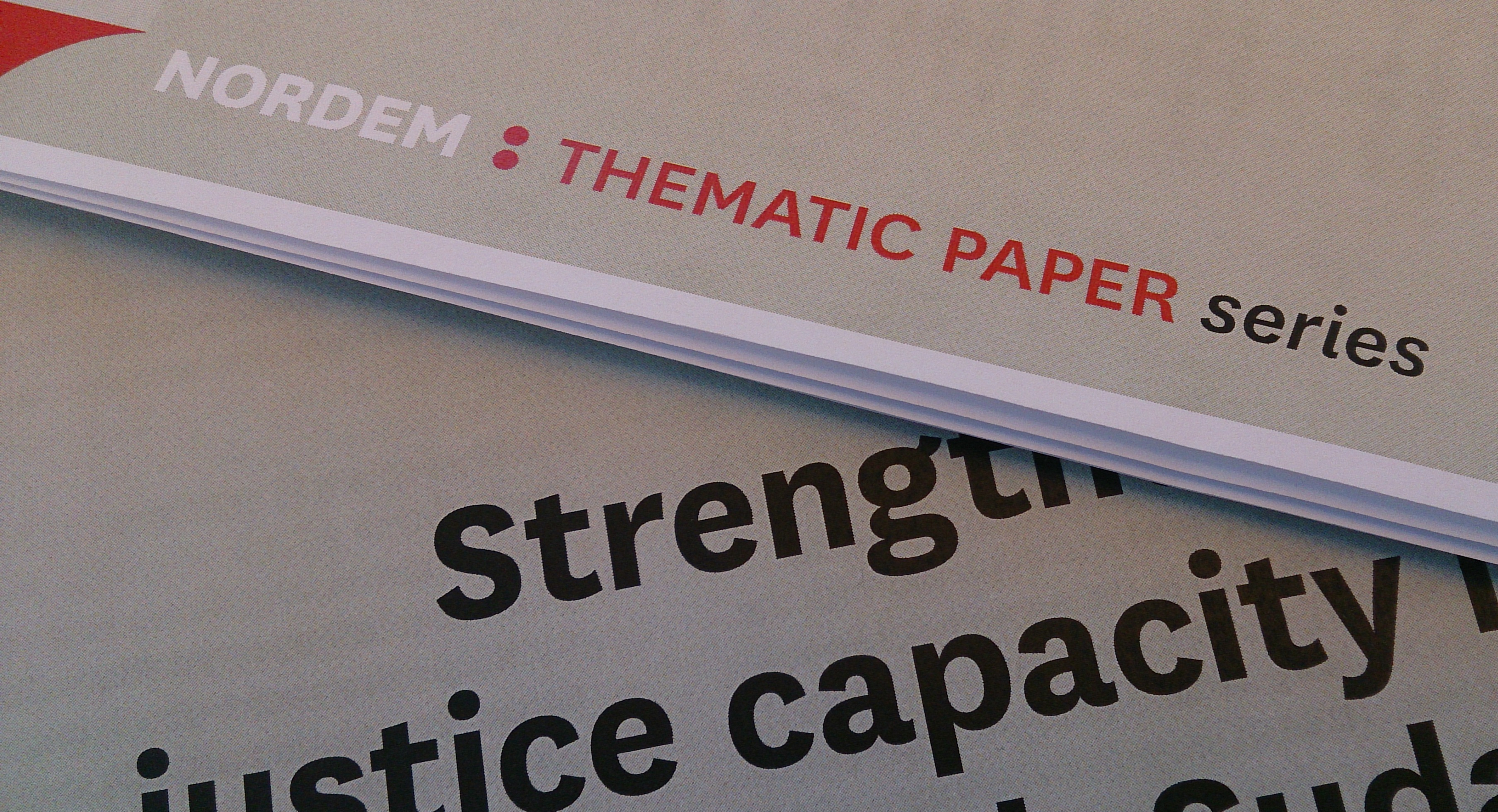 thematic paper