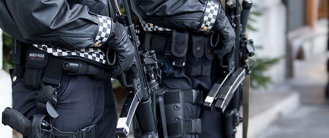 Væpnet politi. Illustrasjonsfoto: Colourbox